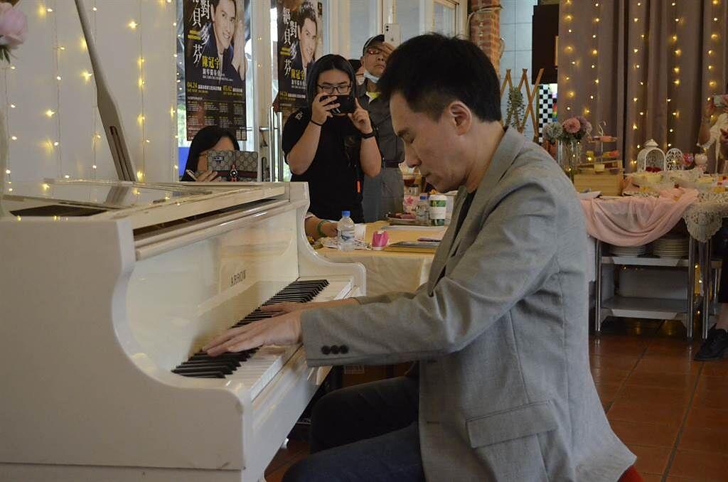 钢琴王子陈冠宇带着贝多芬「回嘉了」 24日独奏会演出