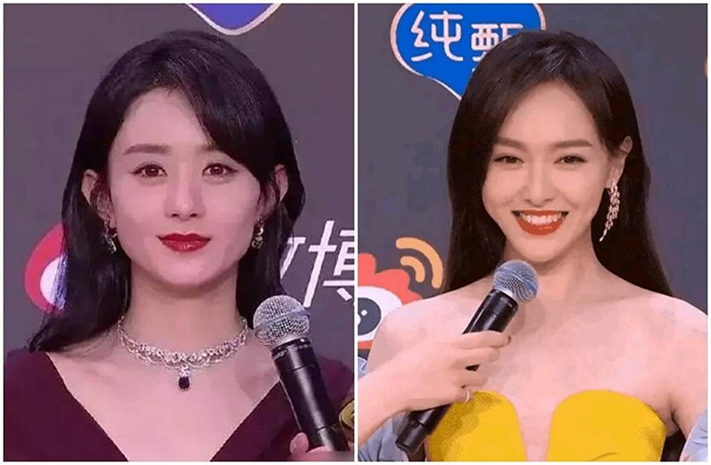 赵丽颖嫁冯绍峰有多不快乐?一张对比照秒懂