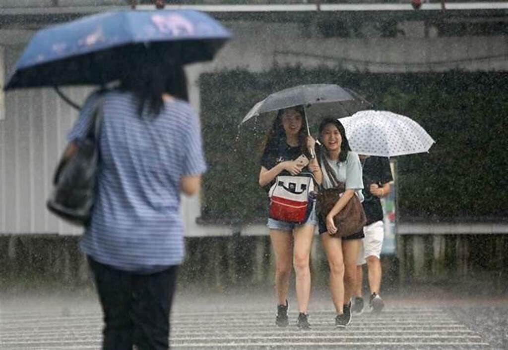 下雨了!这县市大雨特报 曾文水库雨量1小时21.5毫米