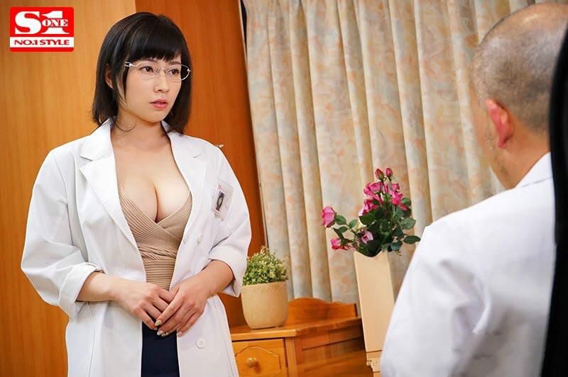 SSNI-465: 巨乳御姐 奥田咲 为科学献身,给捐精志愿者送福利!