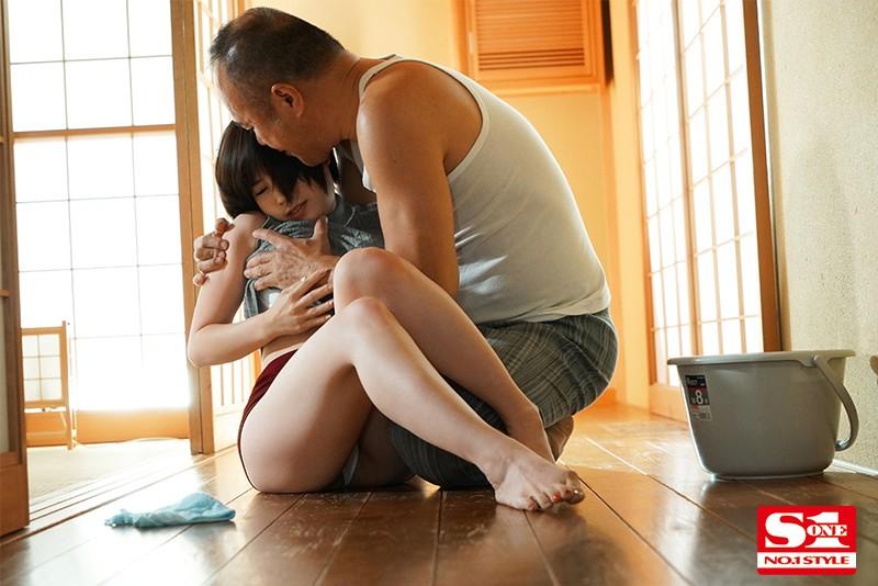 """SSIS-026:丈夫出差五天!短发巨乳人妻""""奥田咲""""沦为鬼公专属性宠物"""