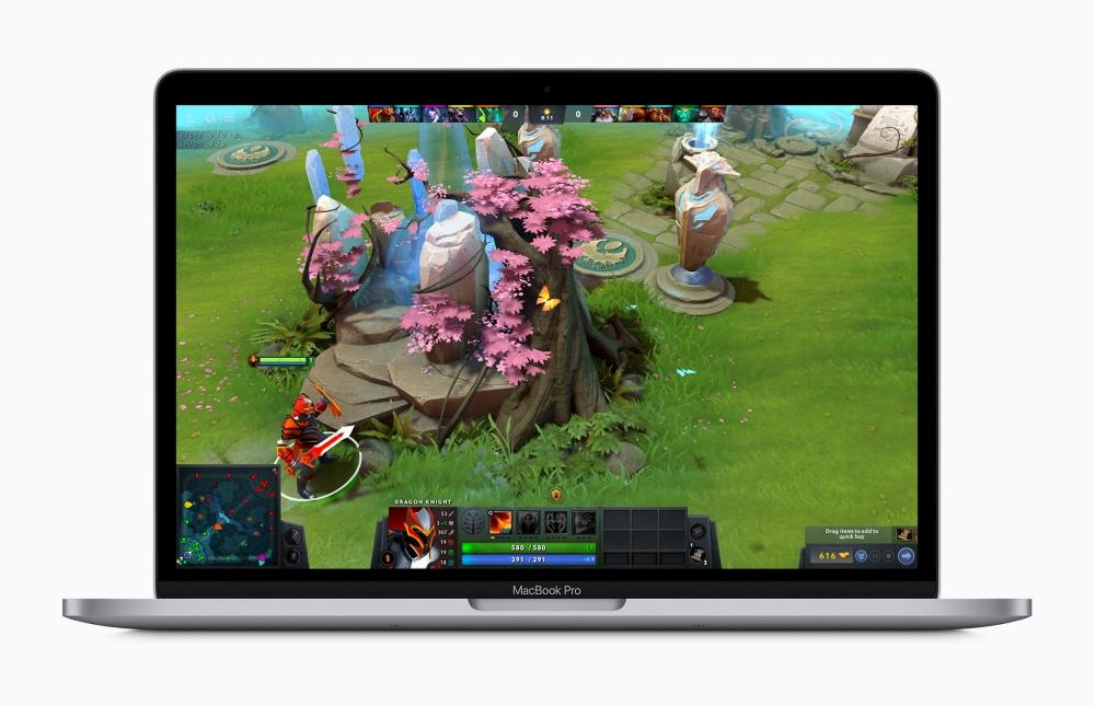 13 吋 MacBook Pro 又无预警更新了!全新剪刀脚键盘、41,900 元即可入手
