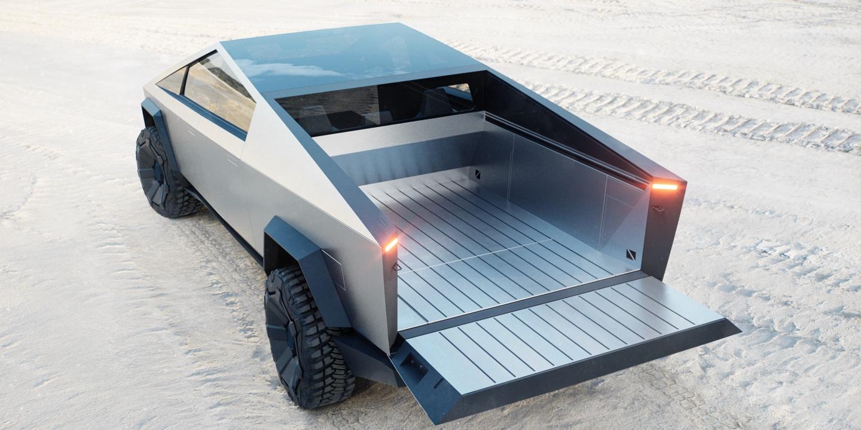 这根本就是未来世界的移动堡垒!特斯拉硬派皮卡 CyberTruck 正式亮相!