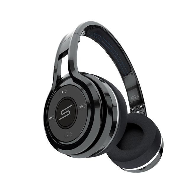 """无""""线""""自由!SMS Audio SYNC by 50 – On-Ear Wireless蓝牙耳罩式耳机"""