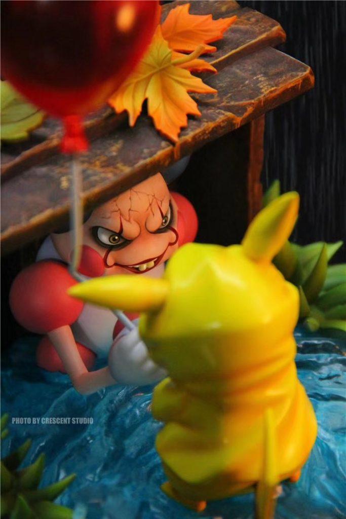 放开那只皮卡丘~《IT x 宝可梦 》模型,重现电影经典「下水道场景」超有梗!