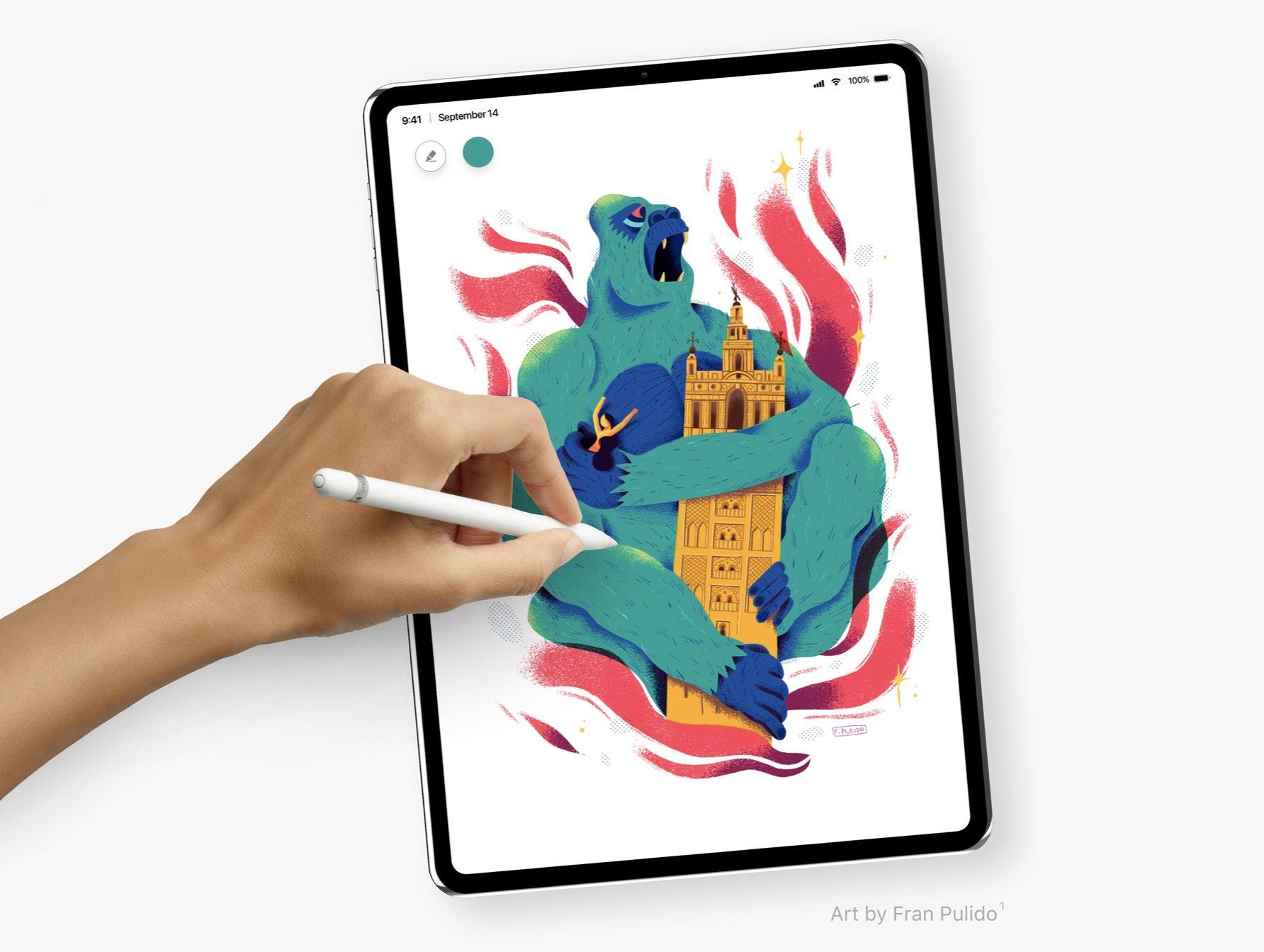 準备换一波!全新 iPad Pro 长这样,「我觉得可以」~