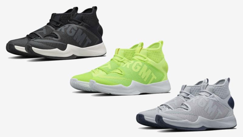 藤原浩篮球魂!Fragment Design x NikeLab HyperRev 2016 联名系列
