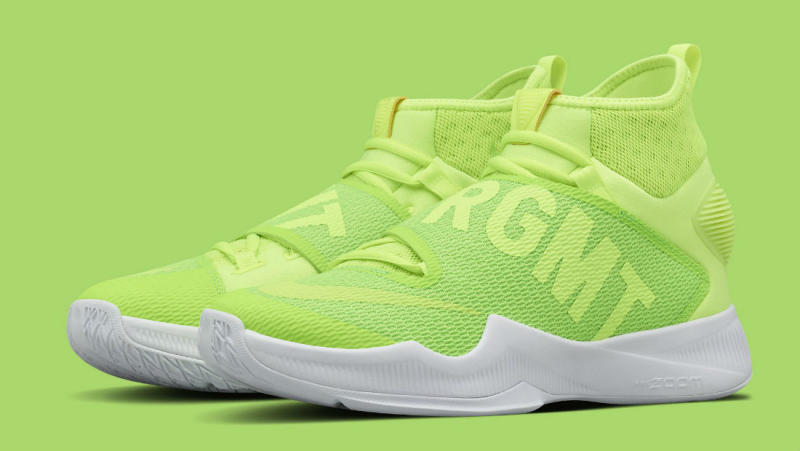 藤原浩篮球魂!Fragment Design x NikeLab HyperRev 2016 联名系列-Green/White-Volt