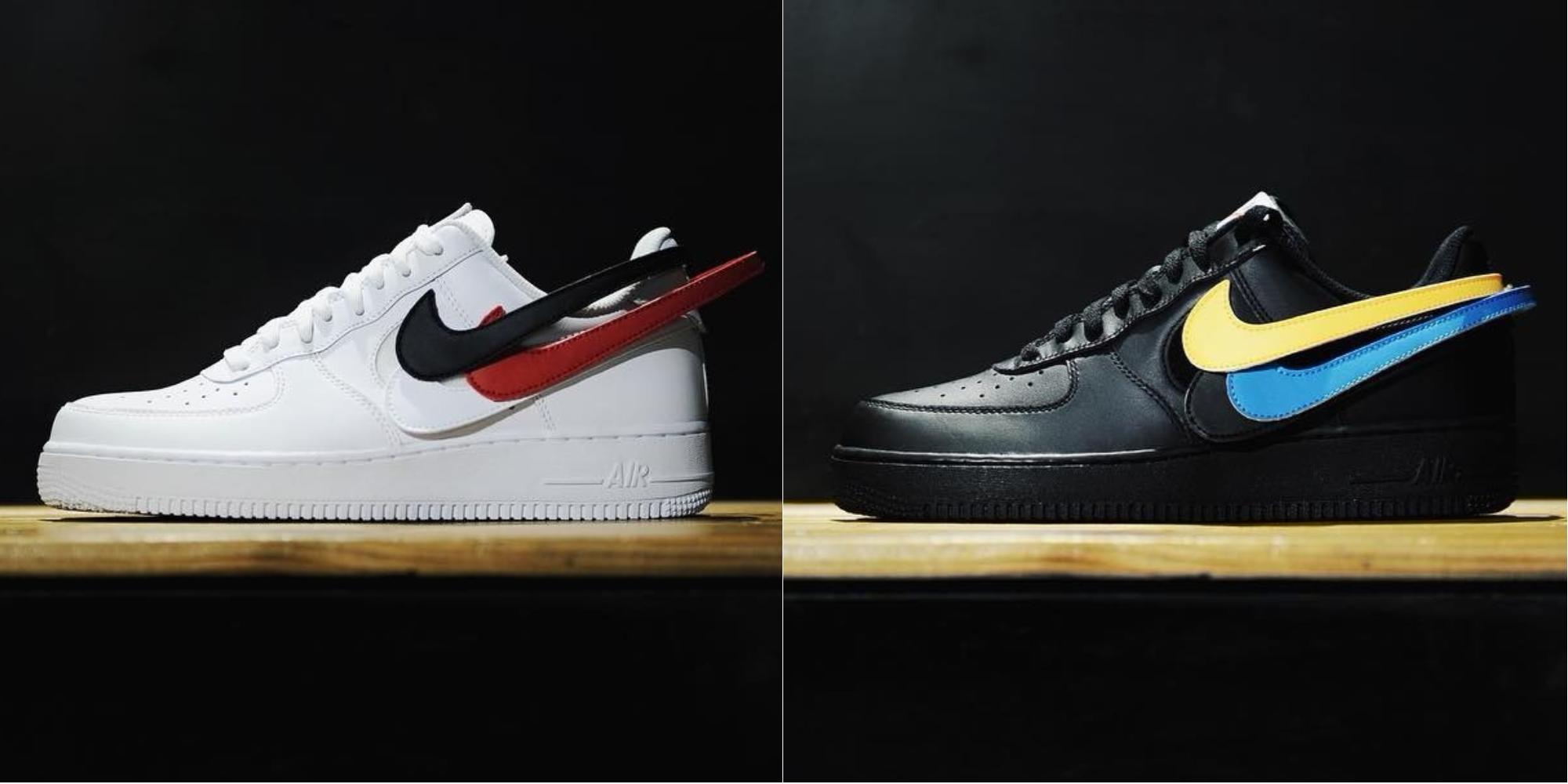 Nike 最新「附赠 5 款换勾」套路,居然连 Travis Scott AF-1「联名款」也只能坐板凳!