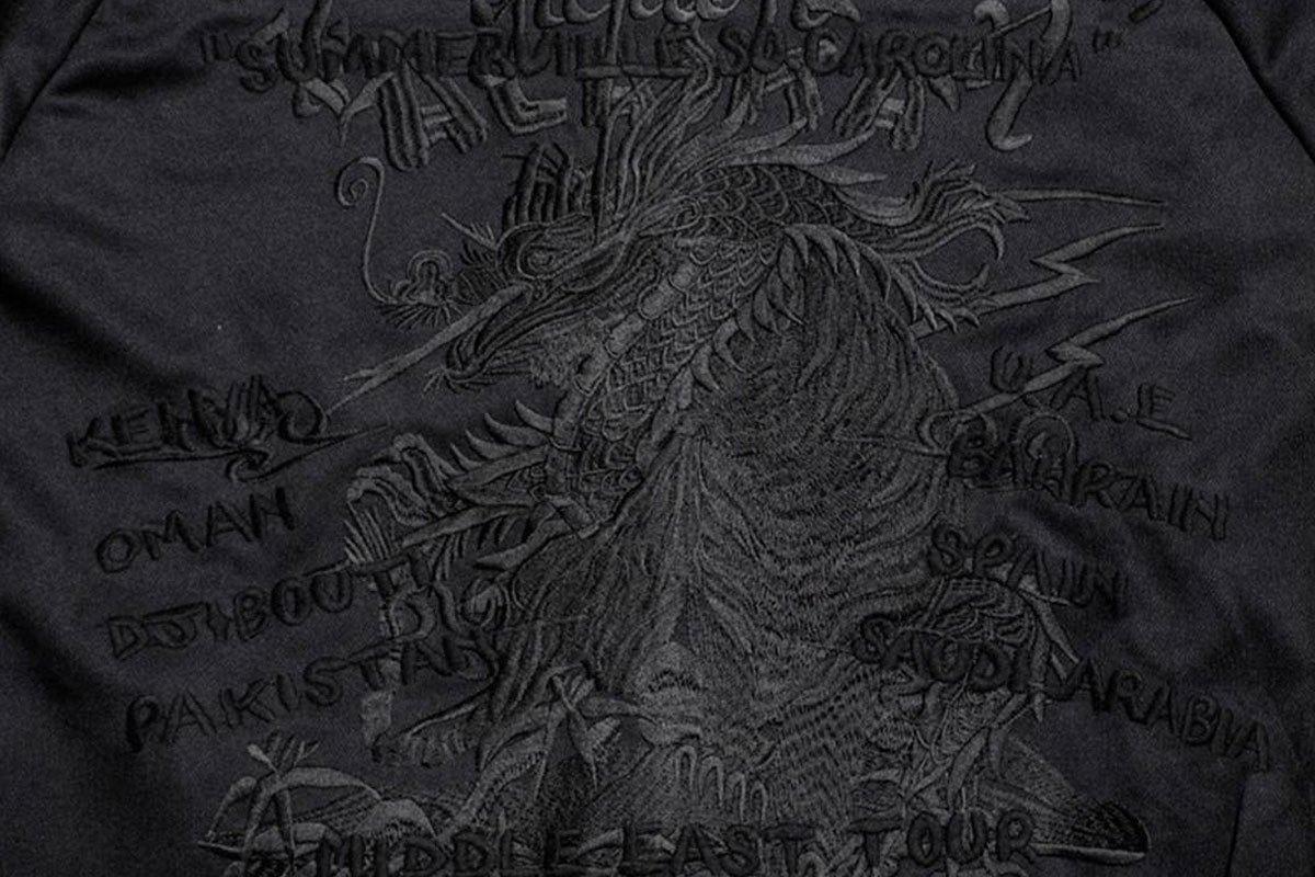 「暗黑骷髅」又有新款!mastermind JAPAN「联名黑魂刺绣」细节保证绝美!