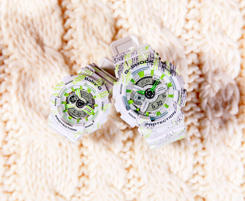 浪漫「錶」心意!G-SHOCK & BABY-G「Textile Pattern Series」
