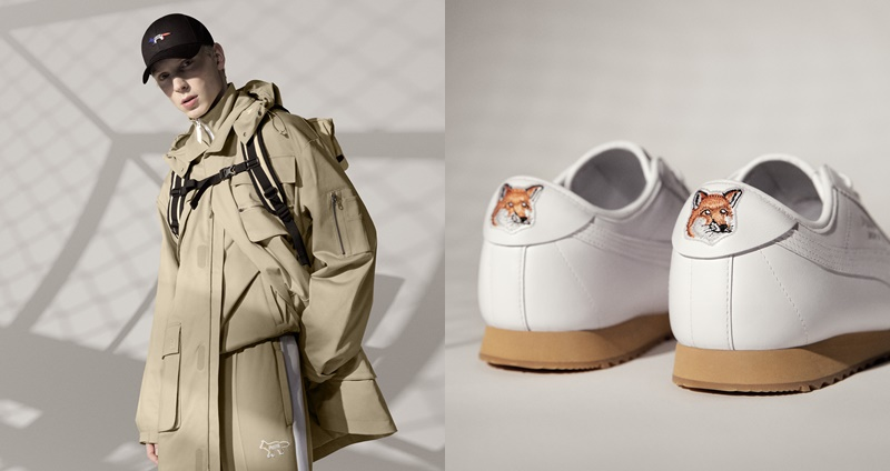 美洲豹融合小狐狸 Logo 超吸睛!PUMA x MAISON KITSUNÉ 时尚联名系列正式登场,工装日本美学超级帅!