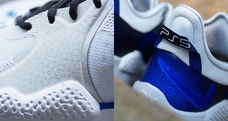 """电玩迷看到都跪了!Sony x Nike PG 5 """"PlayStation 5"""" 高清碟照释出,手把精緻细节完美还原!"""