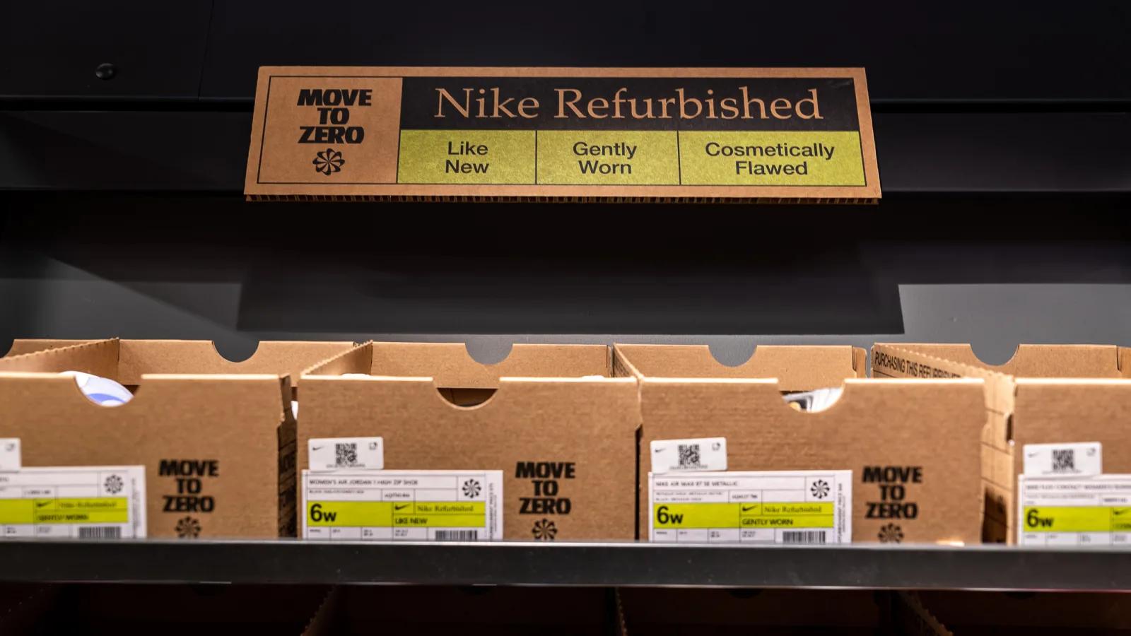 加入二手买取行列!Nike 正式宣布「回收鞋款」贩售计画,开启你不要球鞋的第二人生!