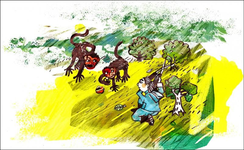 【家庭plus】〈田舍生活〉花园神祕访客