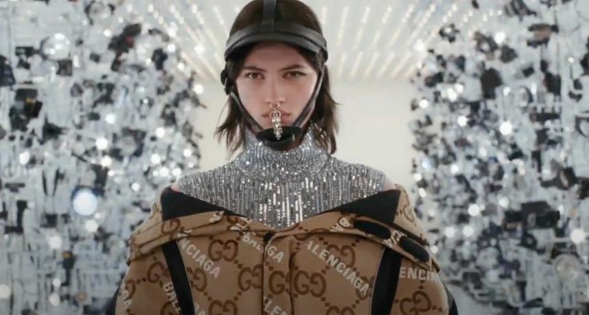 史无前例之作 !GUCCI x Balenciaga 梦幻联名「Aria」正式登场,影响高端时尚未来的惊人之举!