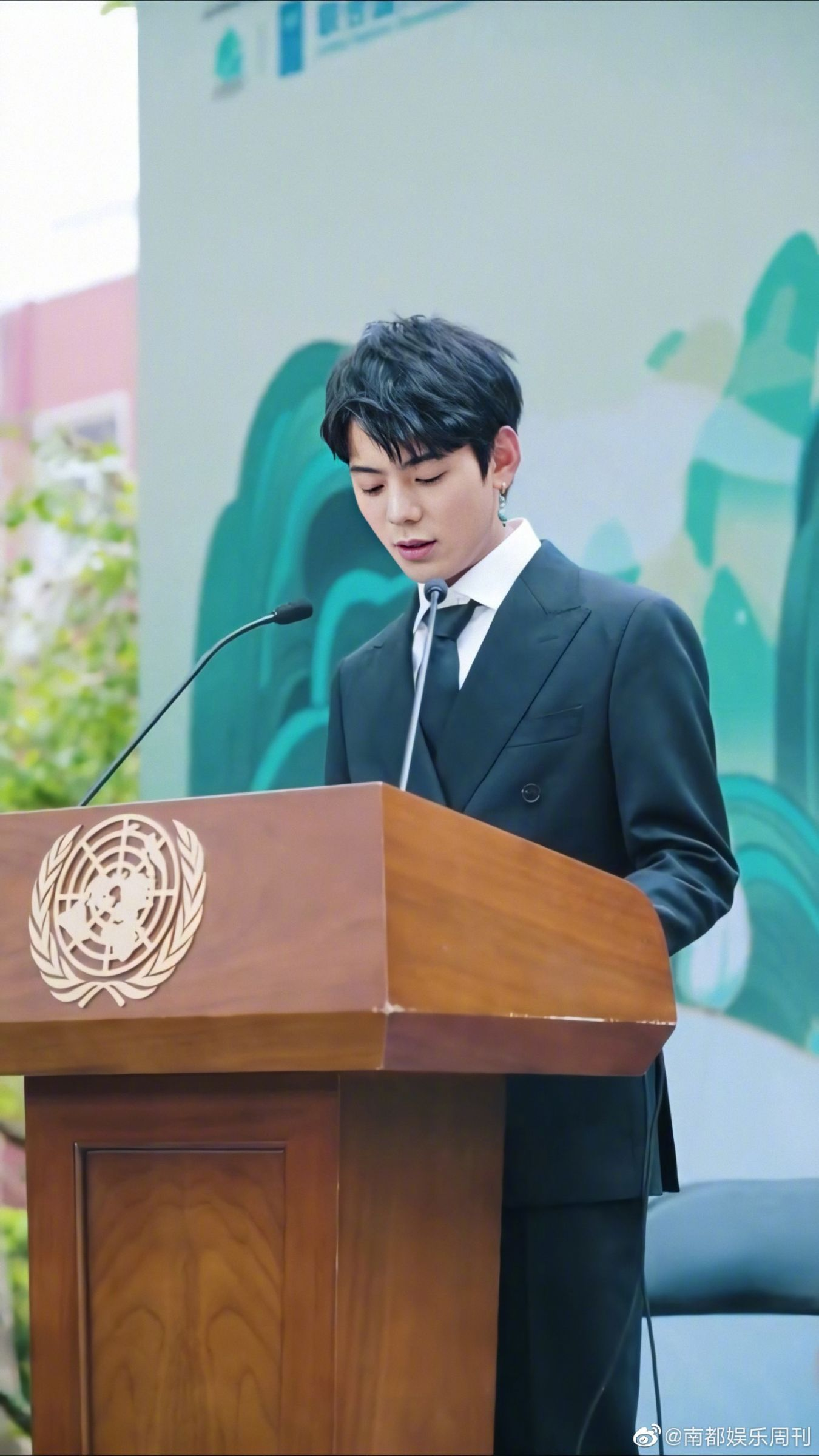 20年没读书!丁真出席联合国「英文演讲」 网看傻:更帅了