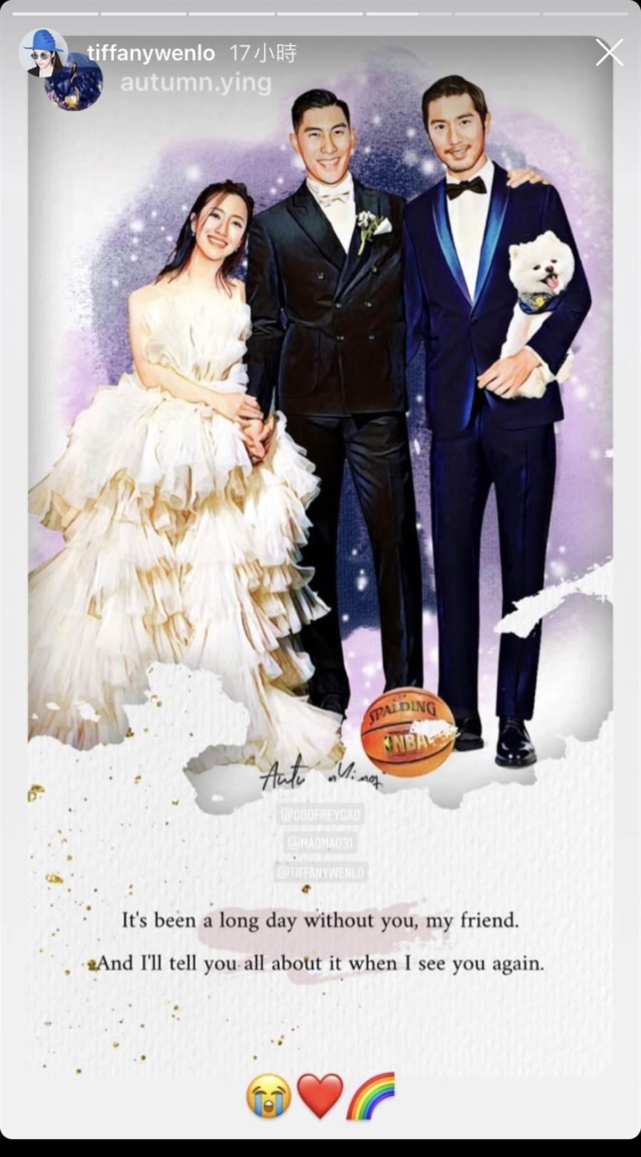 高以翔「现身」毛加恩婚礼 三人同框画让新娘哭了